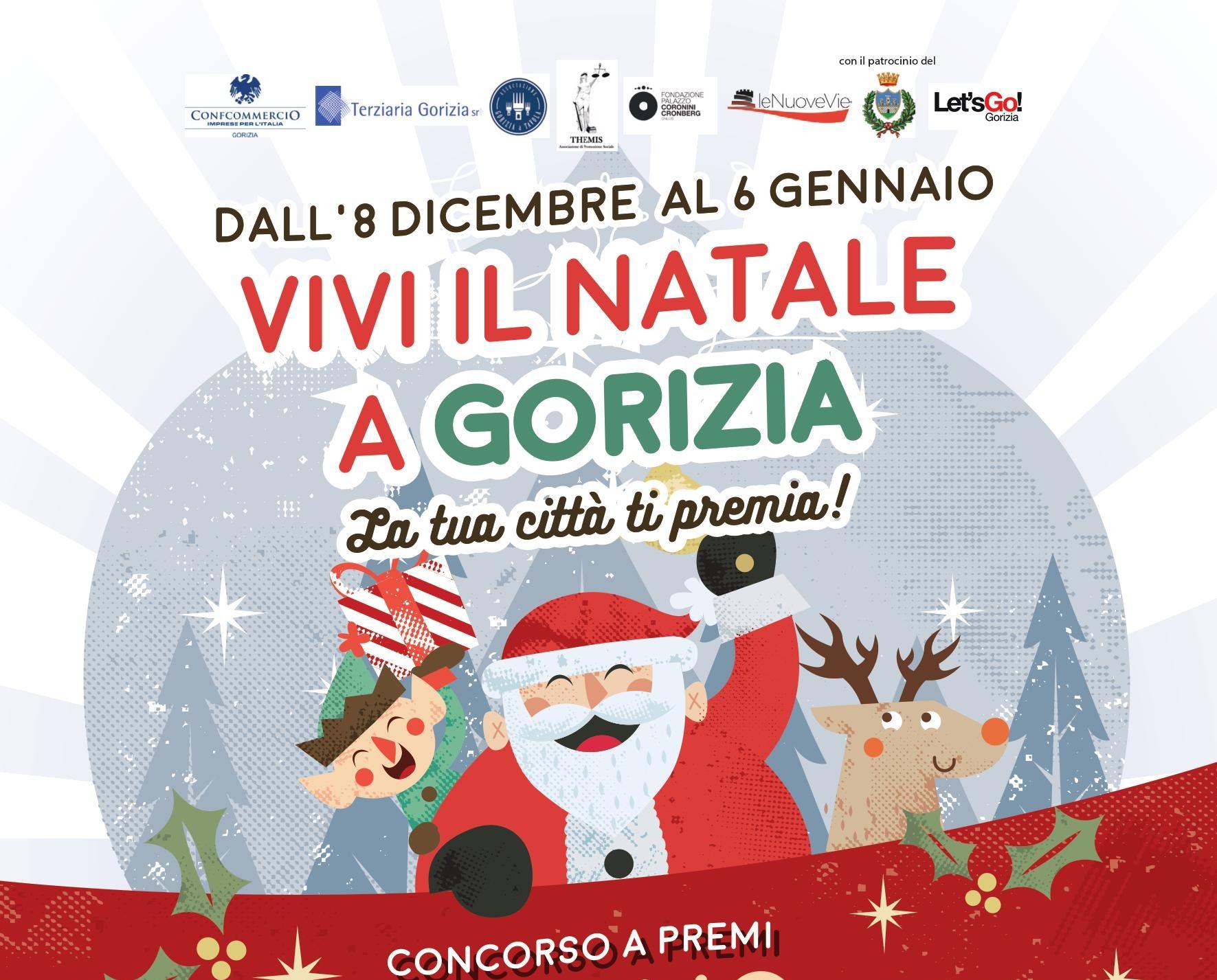 Concorso a premi Gorizia Vivi il Natale a Gorizia, la tua città ti premia!
