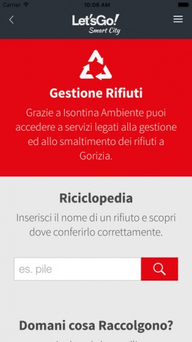 applicazione ì let's go gorizia scarica download apple android itunes iphone gorizia