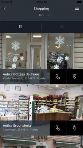 app let's go shopping gorizia le nuove vie centro commerciale naturale gorizia