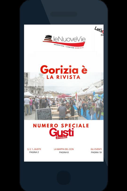 copertina gorizia è rivista le nuove vie gorizia nr.4 - speciale gusti di frontiera